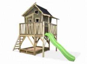 Speelhuis Crooky 550 met glijbaan EXIT