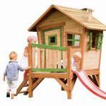 Speelhuisje Robin met glijbaan | AXI