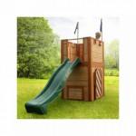 Speelhuis - speelkasteel met glijbaan | voor buiten