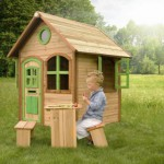 Houten speelhuisje Julia - picknickset optioneel