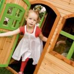 Speelhuisje Julia - speelhuis op de grond
