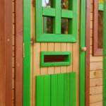 Speelhuisje Tom - deur met brievenbus