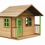 Speelhuis Milan - houten speelhuis op de grond