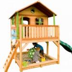 Speelhuis Marc - groot speelhuis met glijbaan en zandbak