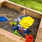 Speelhuis Marc - zandbak