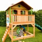 Speelhuis Marc - houten speelhuis voor in de tuin