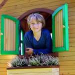 Speelhuis Sarah - bloembak optioneel