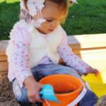 Speelhuis Sarah - zandbak