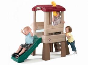 Speelhuis Lookout met glijbaan - Step2