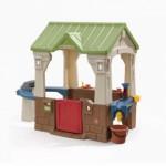 Kunststof speelhuis voor buiten