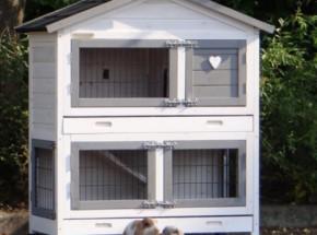 Plexiglas Isolatie Set voor konijnenhok Excellent Small
