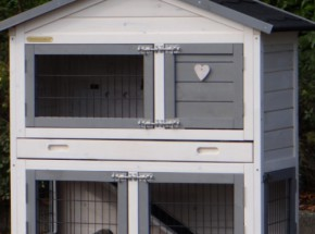 Plexiglas Isolatie Set voor konijnenhok Regular Small