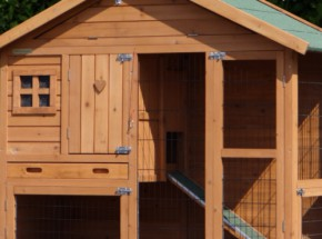 Plexiglas Isolatie Set voor konijnenhok Holiday Small