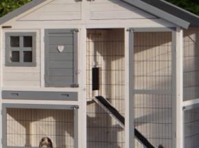 Plexiglas Isolatie Set voor konijnenhok Holiday Medium