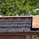 Keramische dakpannen en Douglas-hout maken er een plaatje van