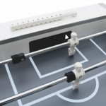 Voetbaltafel Cougar Freestyle Pro White | witte spelers