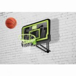Basketbalring EXIT Galaxy Black   muurbevestiging