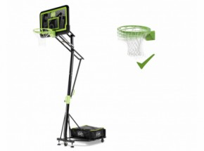 Basket EXIT Galaxy Black Portable met dunkring