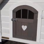 Hondenhok Private 1 | detailfoto van het deurtje