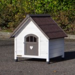 Klein hondenhok, leuk model: de Private 1