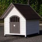 Hondenhok Private 4, met afsluitbare deur