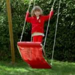 Leuke schommelmat voor de kinderen, de MultiKids Starter rood