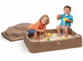 Zandbak Play & Store Step2 107x71cm