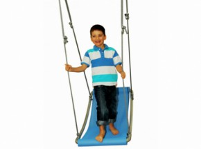 Multi kids schommel mat Starter blauw