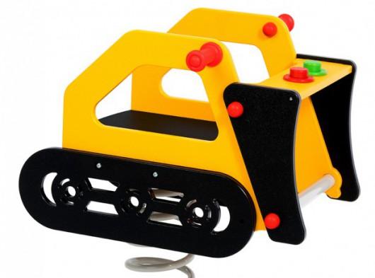 Bulldozer constructie machine wip voor professioneel gebruik