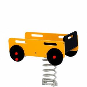 Aanhangwagen met voetplaat of betonanker