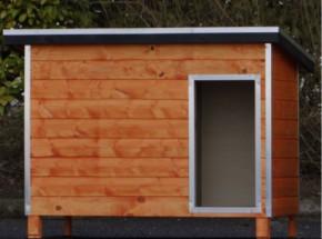 Geïsoleerd Hondenhok Base Medium 126x89x93cm