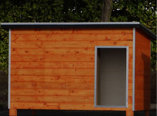 Geisoleerd Hondenhok Base Extra Large 179x126x119cm