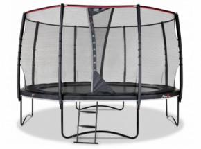 Trampoline EXIT PeakPro - met veiligheidsnet - Ø427cm