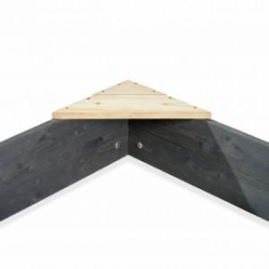 Houten zandbak Boot | houten zitje