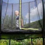 Trampoline EXIT Silhouette | goedkope en kleine trampoline