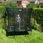 Trampoline EXIT Silhouette | kleine rechtehoekige trampoline
