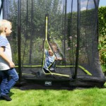 Veiligheidsnet voor trampoline met ritssluiting