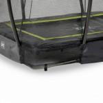 Luchtgaten in de rand van de EXIT Silhouette Ground trampoline