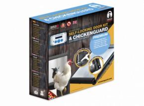 Automatische kippenhok opener Chicken Guard Premium met zelfsluitende deur