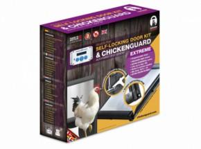 Automatische kippenhok opener Chicken Guard Extreme met zelfsluitende deur