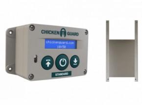 Automatische kippenhok opener Chickenguard Standard met luikje