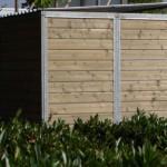 Hondenkennel FORZ Inclusief dak 3x2m - zijkant