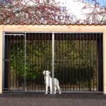 Grote hondenkennel   Tralie hondenren   6m2