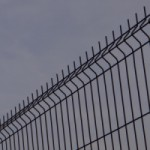 Gaaspaneel Antraciet afrastering / omheining 125x120cm