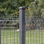 Afrasteringspaal Antraciet voor zachte ondergrond 180cm