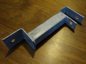 Dakbeugel voor houtpaneel hondenkennel verzinkt