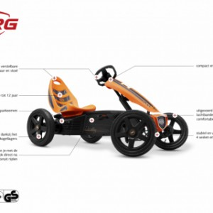 Skelter BERG Rally Orange - specificaties