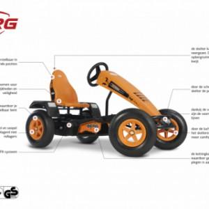 Skelter BERG X-Cross BFR - specificaties