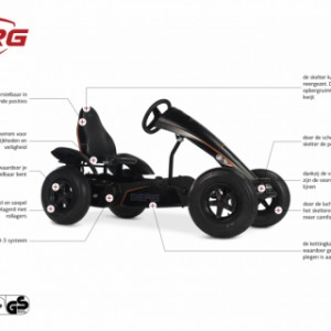 Skelter BERG Black Edition BFR-3 - specificaties