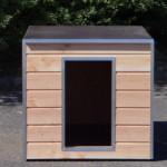Hondenhok Cube voor in een kennel of onder het afdak